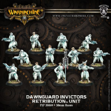 Retribution D/G Invictors & 2 Unit Attachments (12)  PLASTIC